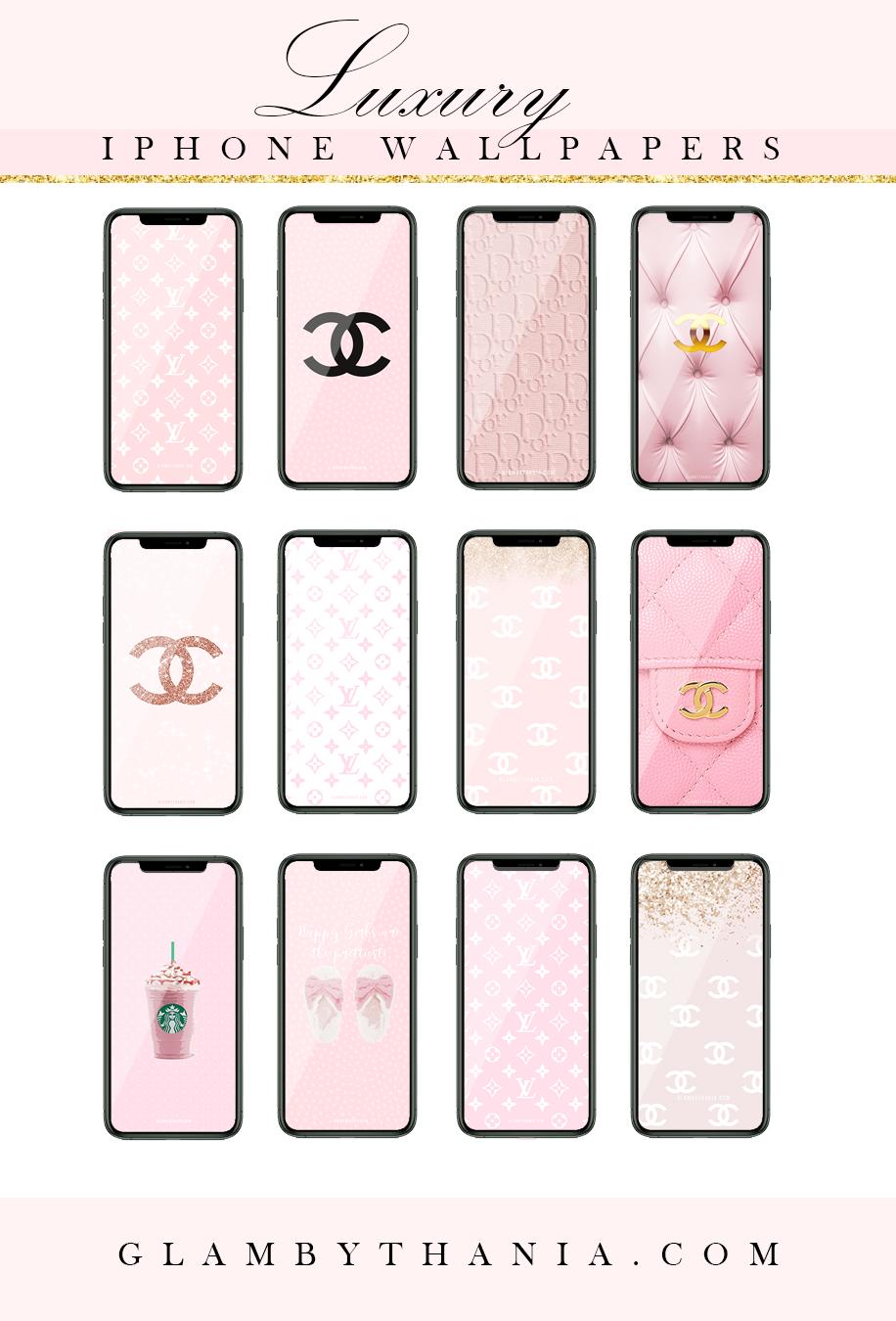 Free Designer Girly Pink Iphone Wallpapers