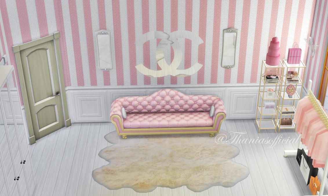 Girly & Pink Sims 4 Custom Content Links